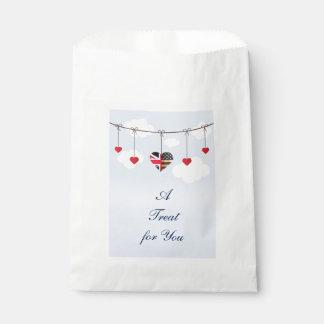 royal wedding favour bag