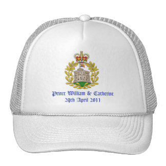 Royal Wedding Trucker Hats