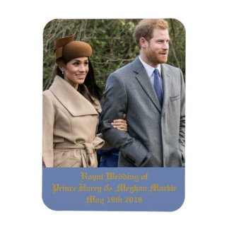 Royal Wedding of Prince Harry & Meghan Markle Magnet