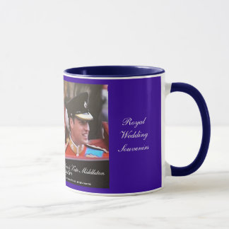 Royal Wedding William and Kate souvenir mug