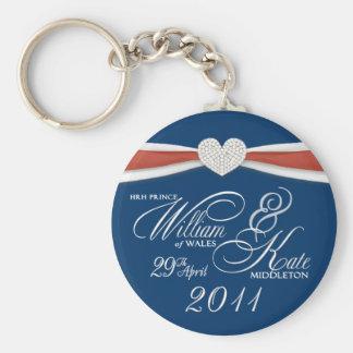 Royal Wedding - William & Kate Key Rings Key Chains