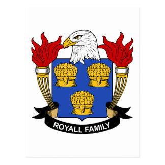 Royall Family Crest Postcard