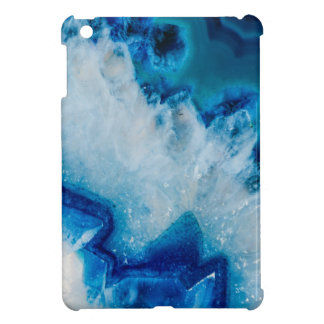 Royally Blue Agate Cover For The iPad Mini