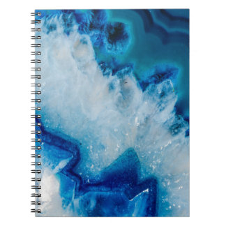 Royally Blue Agate Notebook