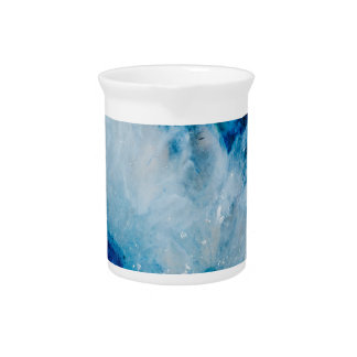 Royally Blue Agate Pitcher