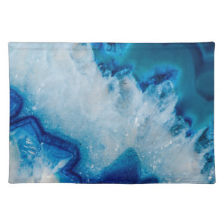 Royally Blue Agate Placemat