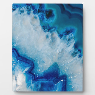 Royally Blue Agate Plaque