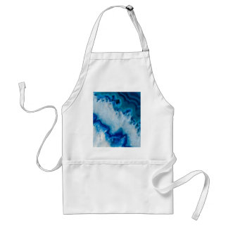 Royally Blue Agate Standard Apron