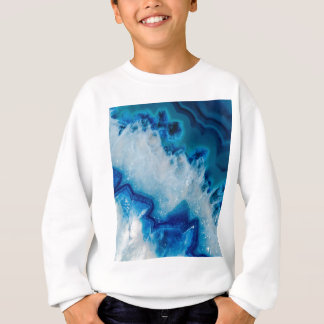 Royally Blue Agate Sweatshirt