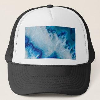 Royally Blue Agate Trucker Hat