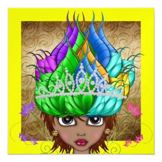 Royally Express Yourself - SRF 13 Cm X 13 Cm Square Invitation Card