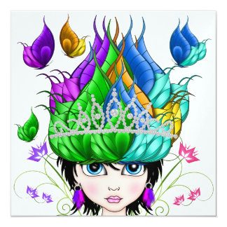 Royally Express Yourself - SRF 13 Cm X 13 Cm Square Invitation Card