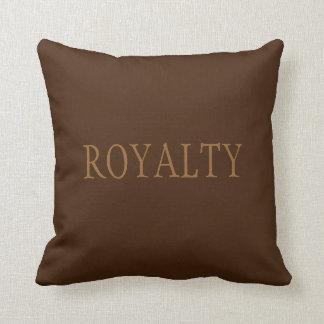 Royalty Brown custom cushion pillow