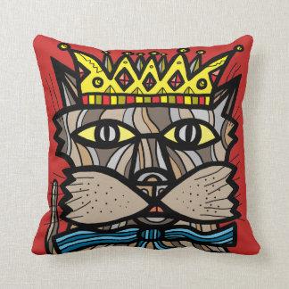"""""""Royalty"""" BuddaKats Throw Pillow"""