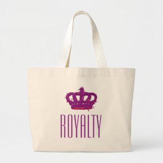 Royalty Crown Jumbo Tote Tote Bag