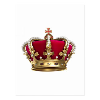 Royalty Crown Postcard