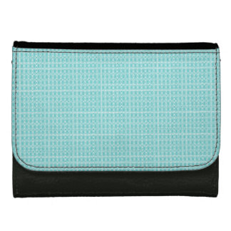 Royalty-Fabrics-Blue-Spring-Plaid-Wallet's Women's Wallet