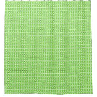Royalty-Fabrics-Edge-Green-Mod_Bathroom_Unisex Shower Curtain