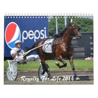 Royalty For Life 12 months 2014 Calendar