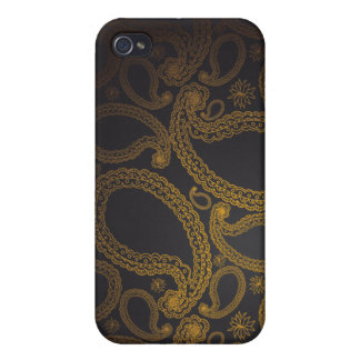 Royalty Paisely Covers For iPhone 4