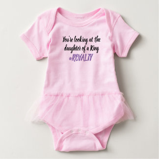 Royalty Tutu Baby Bodysuit