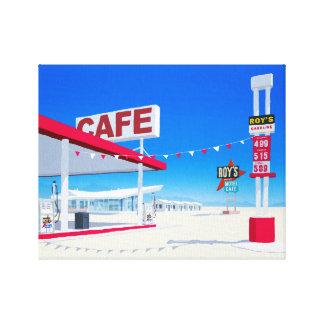 Roys Hotel Canvas Print
