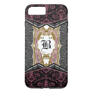 Rozzy Gothic Chic VII Unique Baroque Monogram iPhone 7 Plus Case