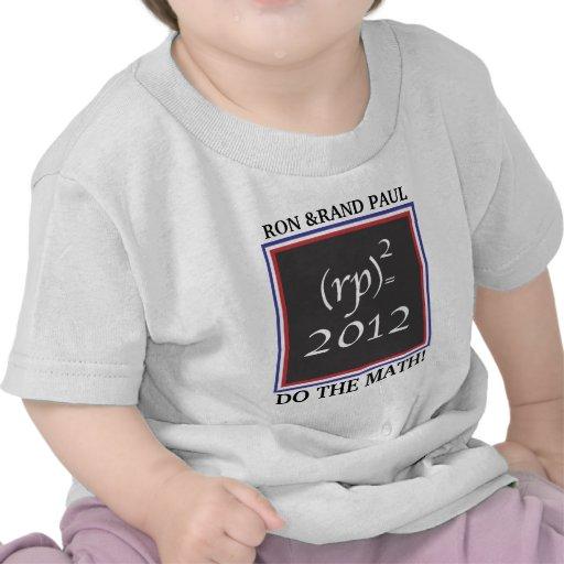 (rp)=2012.MATH. Toddler T-Shirt