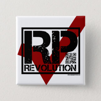 RP Revolution - Vote for Ron Paul Button