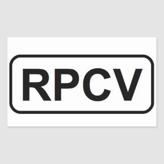 RPCV Sticker