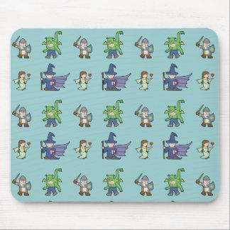 RPG Cartoon Kids - Mousepad