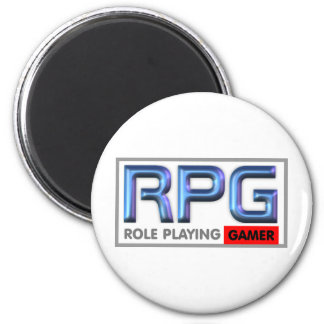 RPG Gamer Lifestyle Refrigerator Magnet