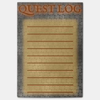 RPG Quest Log Post-it® Notes
