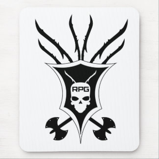 RPG Shield Vertical Mouse Pad
