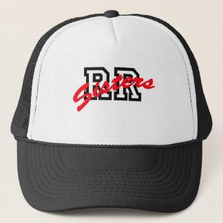 RR Sisters Baseball Print Trucker Hat