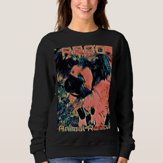 RRAO Animal Rescure RED HOLLY SweatShirt
