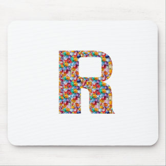 RRR  Jewelled Art for ALPHA R : Great Gifts Mouse Pad