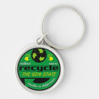 RRR The Gem State Keychain