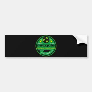 RRR The Grand Canyon State Bumper Sticker