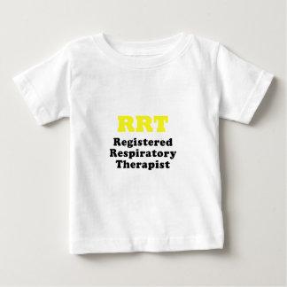 RRT Registered Respiratory Therapist Baby T-Shirt
