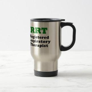 RRT Registered Respiratory Therapist Travel Mug