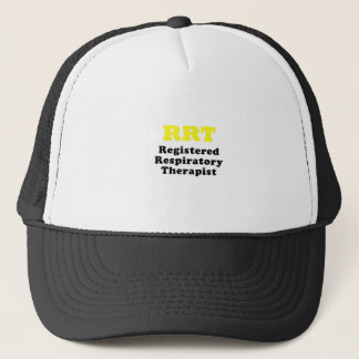 RRT Registered Respiratory Therapist Trucker Hat