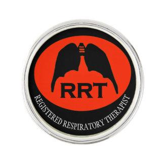RRT RESPIRATORY BAT LUNGS by Slipperywindow Lapel Pin
