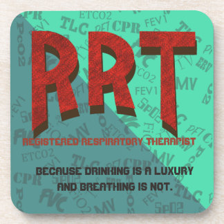 RRT RESPIRATORY CARE COASTER by SlipperyWindow