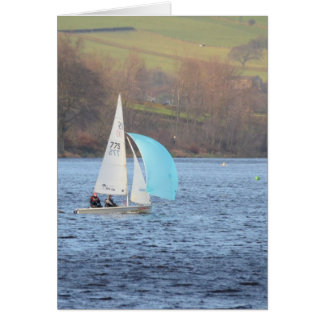 RS200 Sailing Dinghy Card