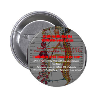RSD-CRPS-Affects every system AND troops Pinback Buttons