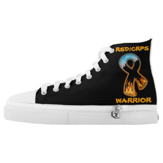 RSD/CRPS WARRIOR  fire & ice Printed Shoes