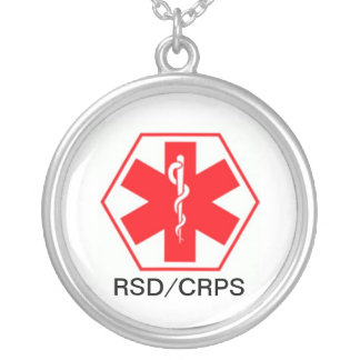 RSD Medical alert necklace CRPS