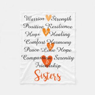 RSD Sisters Affirmations Blanket