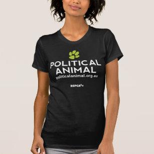 RSPCA Political Animal Black Vintage Tee